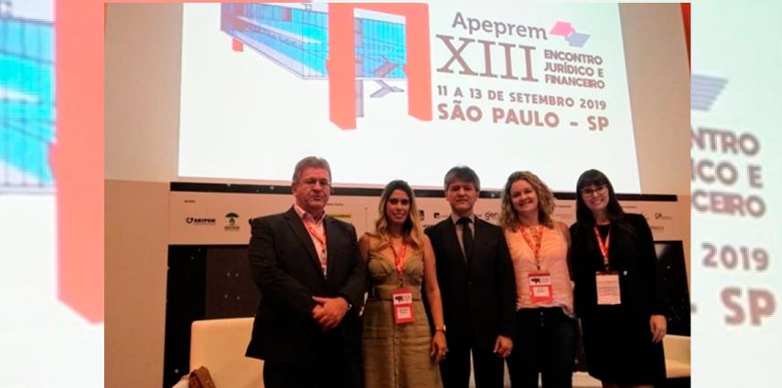 Equipe do São João Prev marca presença em dois eventos em São Paulo
